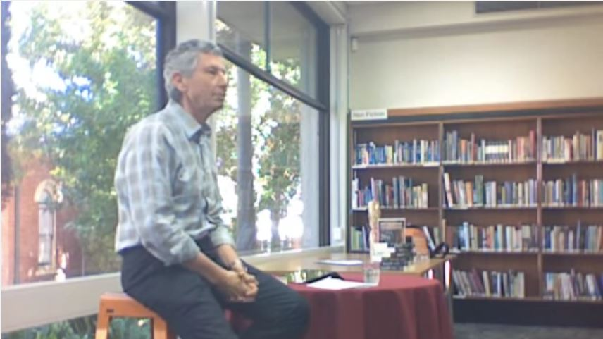 Ray Glickman talks about his new book Reality at the Subiaco Library.